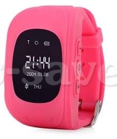 часы телефон розовые Q50