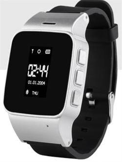 gps часы EW100 серебро