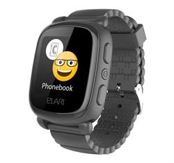 Детские часы Elari Kidphone 2, черные - фото 5334