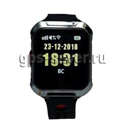Умные часы W10S (A20S) водонепроницаемые, черные - фото 5546