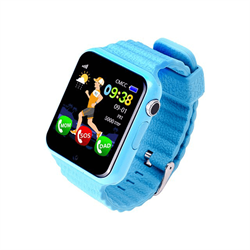 Smart Baby Watch GPS X10, голубые - фото 5619