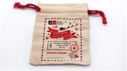 """Подарочный мешок """"Снеговик"""" под часы - фото 5642"""