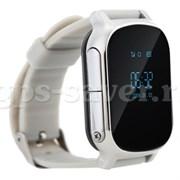 gps часы трекер smart watch t58 silver