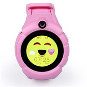 Детские часы-телефон с камерой розовые