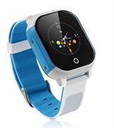 Умные GPS часы FA23, бело-голубые