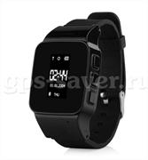 Часы Smart watch EW100 с GPS цвет черный