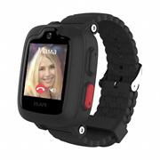 Детские умные часы Elari Kidphone 3G, черные