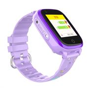 Детские умные часы Q500 с видео-звонком, фиолетовые