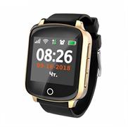 Умные GPS часы D200S, золотые