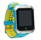 Smart Baby Watch W10 водонепроницаемые, голубые - фото 5112