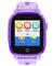 Детские умные часы Q500 с видео-звонком, фиолетовые - фото 5498