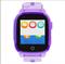 Детские смарт часы Q500 с видео-звонком, фиолетовые - фото 5508