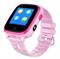 Детские смарт часы с видео-вызовом Q500, розовые - фото 5510