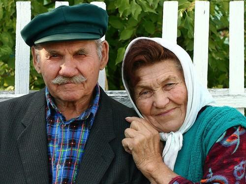 бабушка с дедушкой картинки